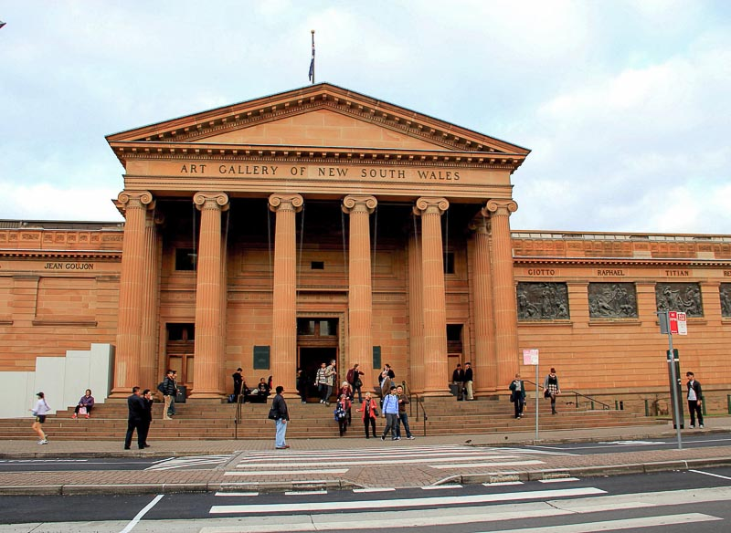 art gallery of new south wales in sydney