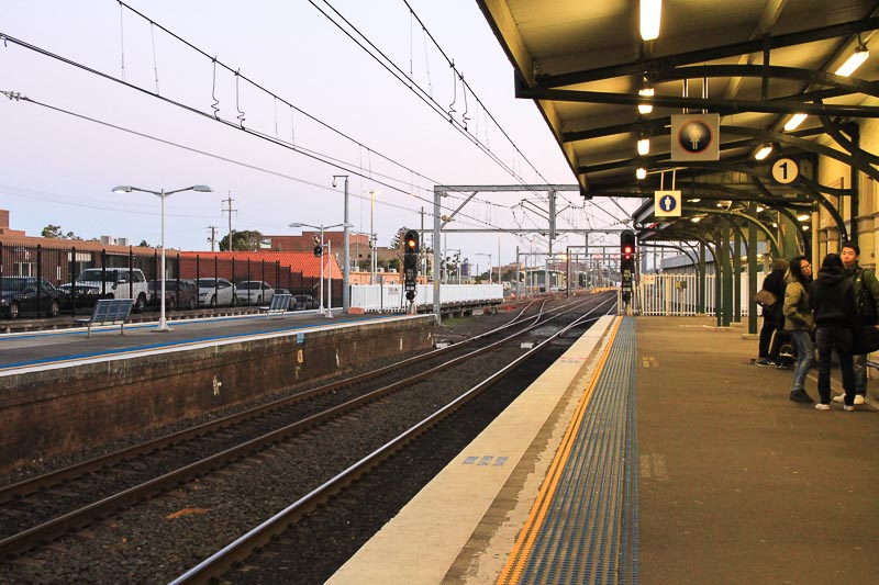 South Coast Line train, Wollongong Sydney