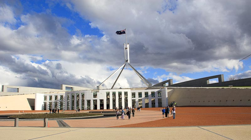 Canberra Parliament House-1