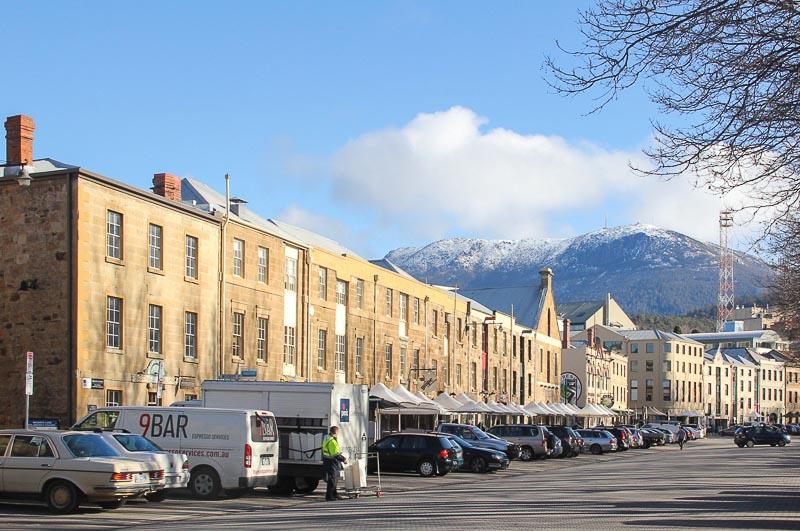 Salamanca Place, Fruit Market Hobart Tasmania