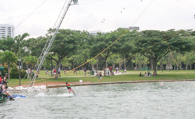 Places to Visit in Singapore for Outdoor Adventure Lovers - East Coast Park - Cable water skiing, ECP