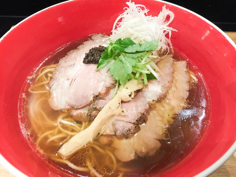 Trevallog favourite food in Singapore - tsuta ramen pacific plaza singapore