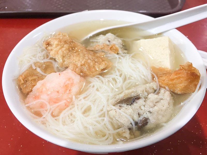 Trevallog favourite food in Singapore - bai nian niang dou fu