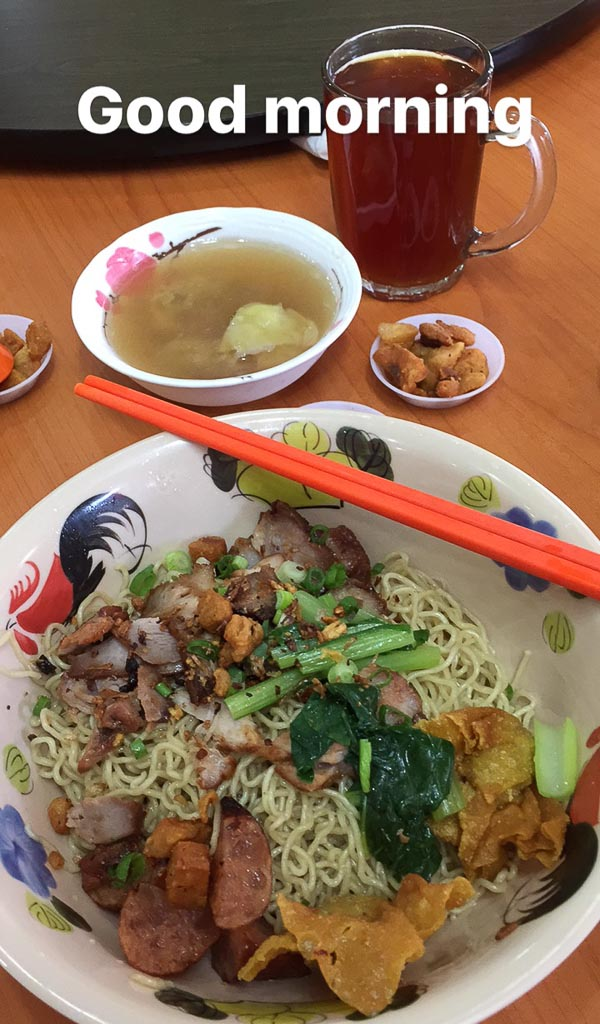 Trevallog favourite food in Singapore - Soi 19 Wantan Mee