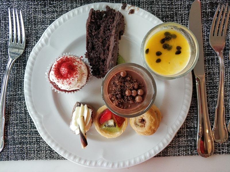 The Carvery, Park Hotel Alexandra - food - dessert