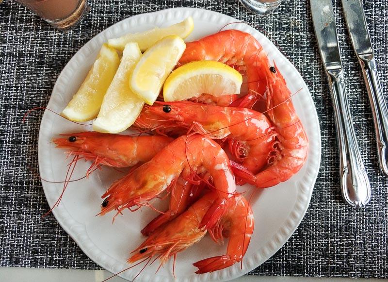 The Carvery, Park Hotel Alexandra - food - seafood