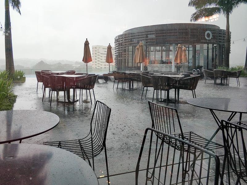 The Carvery, Park Hotel Alexandra - window seat view