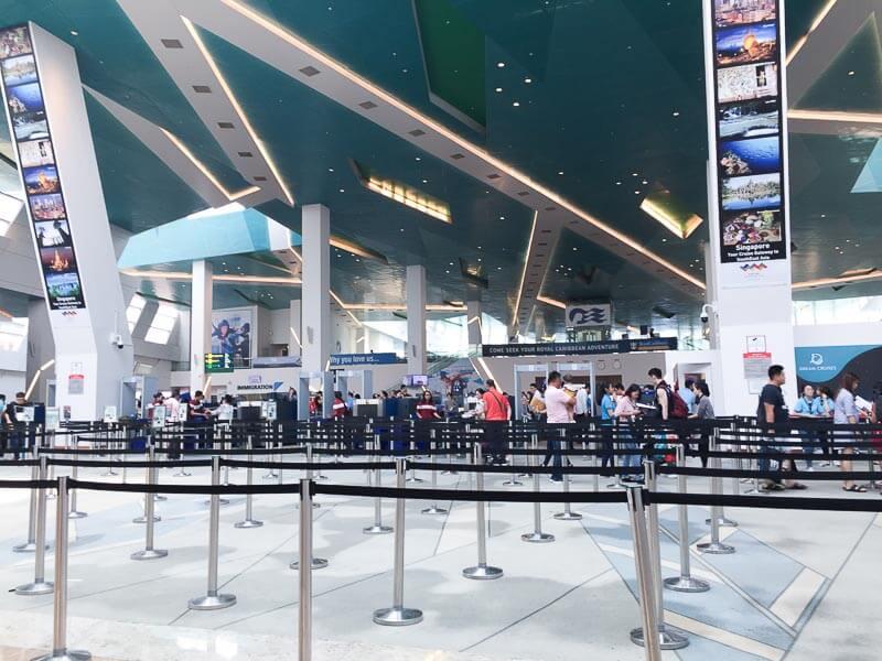 Marina Cruise Centre check in terminal