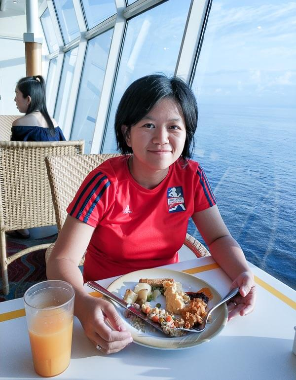 Voyager of the Seas - Singapore Penang 4 days 3 nights - breakfast windjammer