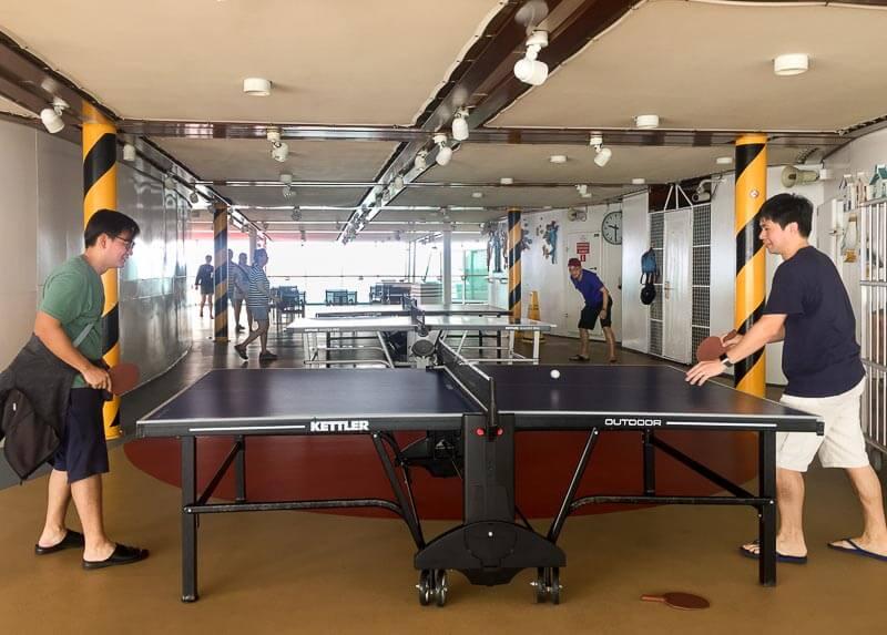 Voyager of the Seas - Singapore Penang 4 days 3 nights - table tennis