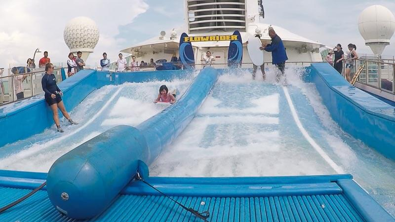 Voyager of the Seas - Singapore Penang 4 days 3 nights - flowrider