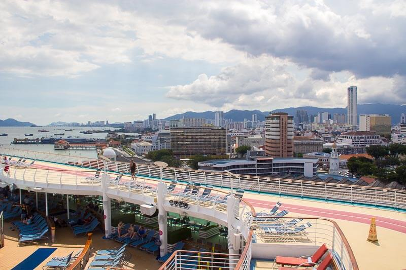 Voyager of the Seas - Singapore Penang 4 days 3 nights - arrive penang