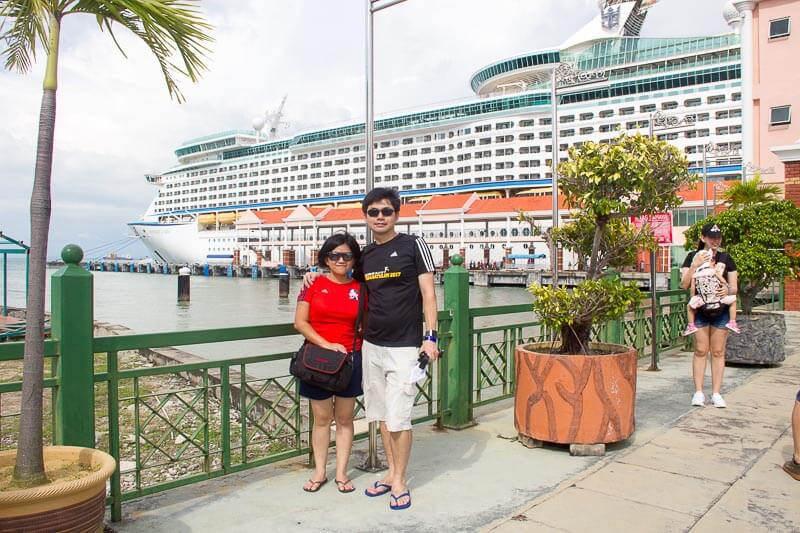 Voyager of the Seas - Singapore Penang 4 days 3 nights - arrive penang