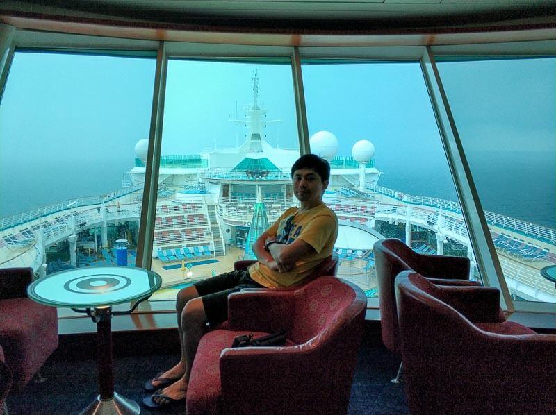 Voyager of the Seas - Singapore Penang 4 days 3 nights - lounge deck 12