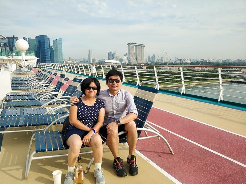 Voyager of the Seas - Singapore Penang 4 days 3 nights - arrive in singapore