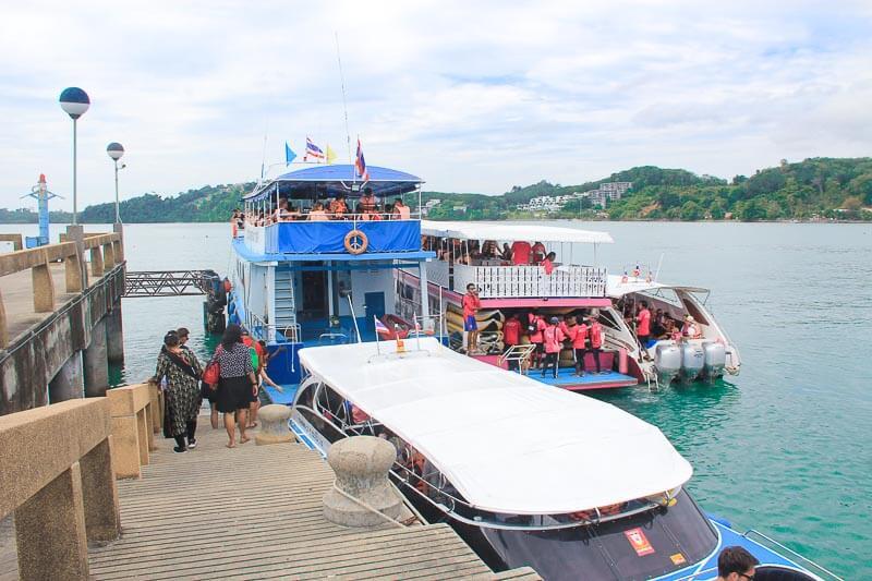 James Bond Island and Phang Nga Bay Tour from Phuket - Ao Po Pier