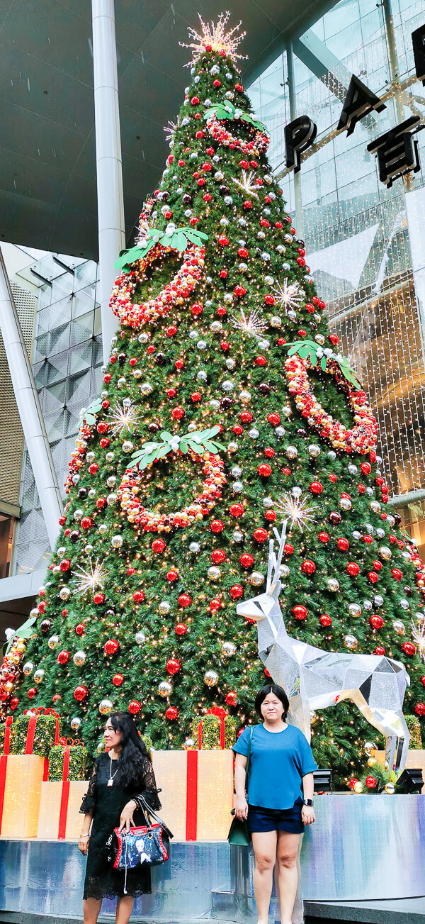Christmas in Singapore - Orchard Road paragon