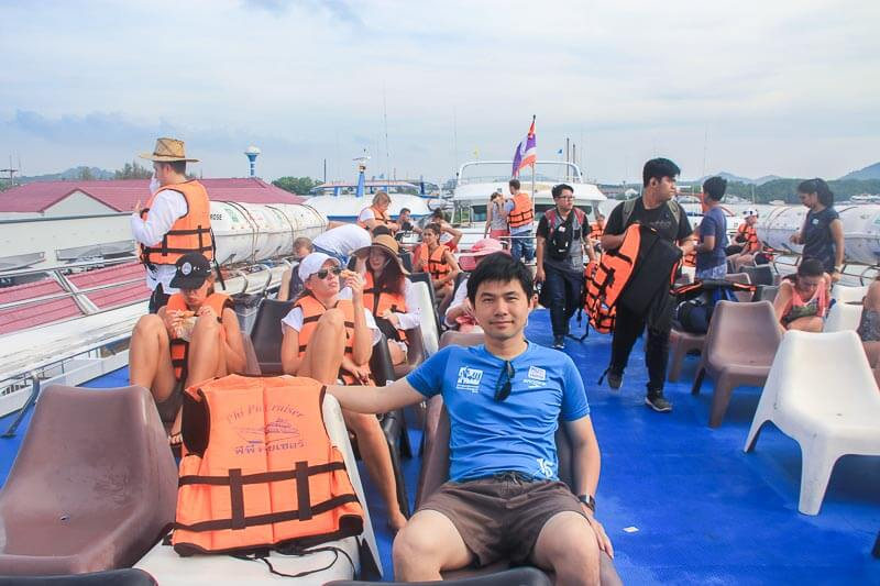 Visiting Phi Phi Island from Phuke Without a Tour - phi phi cruiser