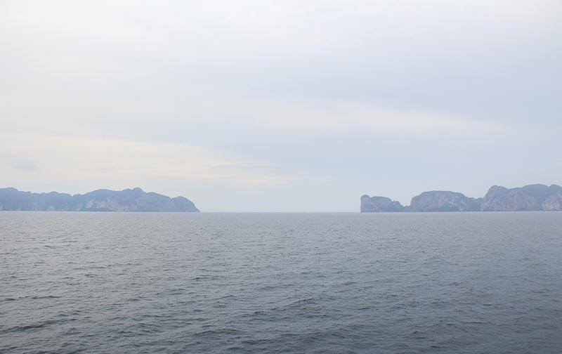 Visiting Phi Phi Island from Phuke Without a Tour - view