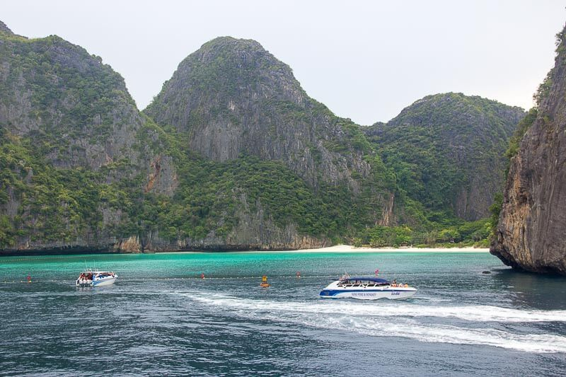 Visiting Phi Phi Island from Phuke Without a Tour - sightseeing - maya bay