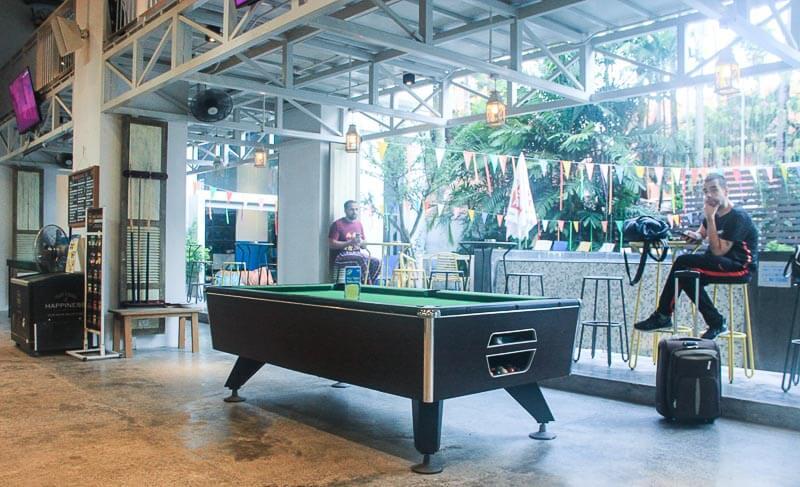 Lub d Phuket Patong pool table