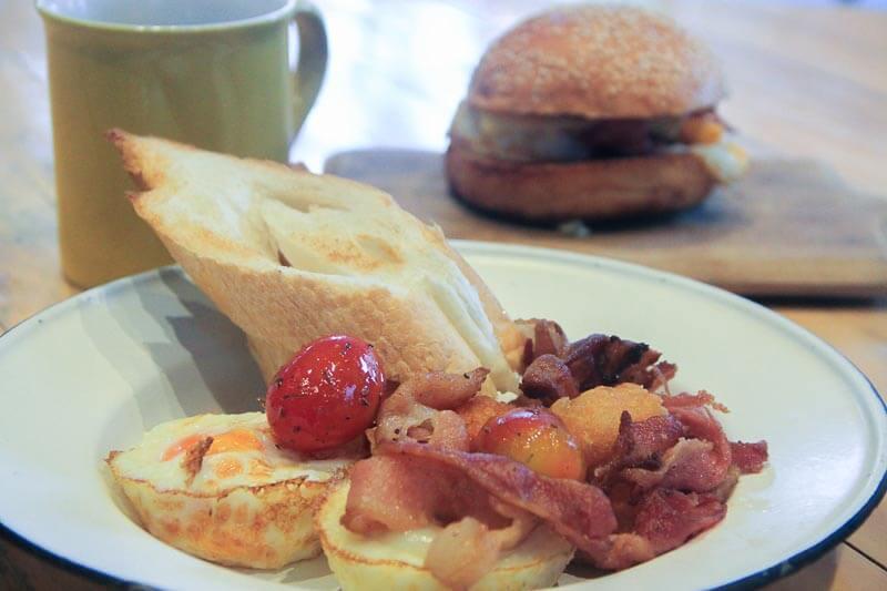 Lub d Phuket Patong breakfast menu