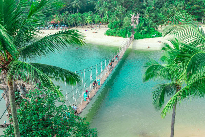 Awesome Places in Singapore You Can Visit for Free - Sentosa Palawan Beach