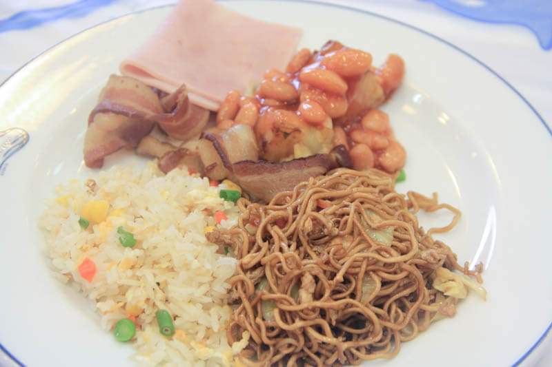 Buffet Breakfast at Phi Phi Hotel - 24 Hours Itinerary in Phi Phi Islands