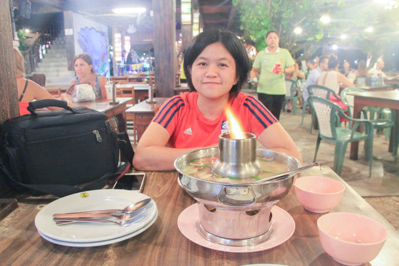 Dinner at Chao Koh Restaurant - 24 Hours Itinerary in Phi Phi Islands