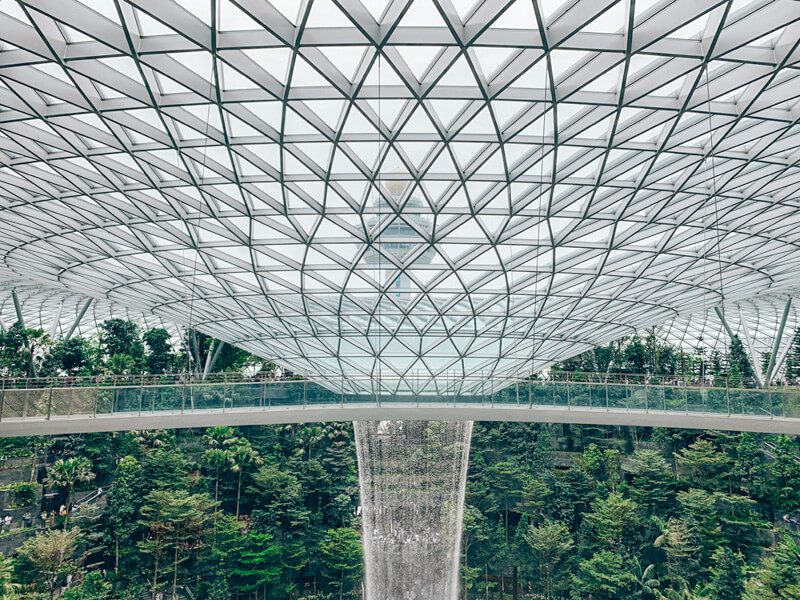 Jewel Changi Airport - Canopy Bridge