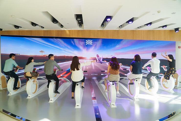 Jewel Changi Airport - Changi Experience Studio