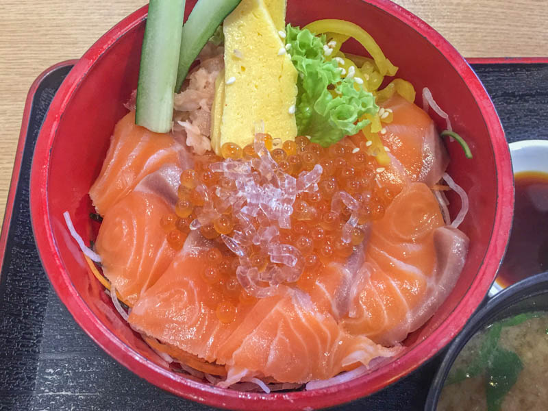 Ming San Casual Japanese Restaurant - Salmon Donburi