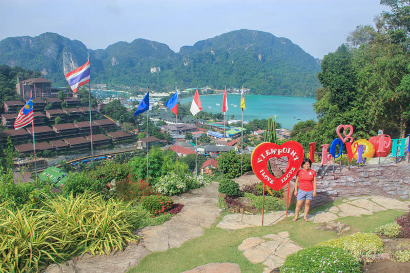 Park At Phi Phi Viewpoint 1 - 24 Hours Itinerary in Phi Phi Islands
