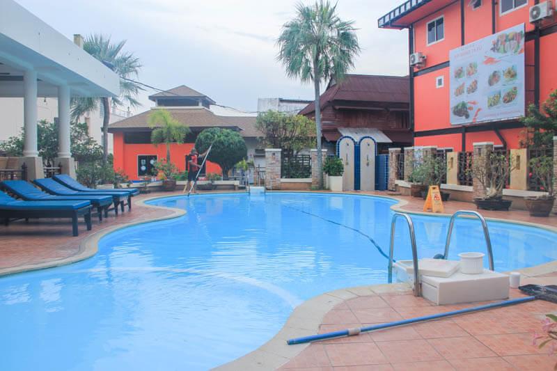Swimming Pool at Phi Phi Hotel - 24 Hours Itinerary in Phi Phi Islands
