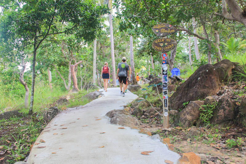The Road to Phi Phi Viewpoint 2 - 24 Hours Itinerary in Phi Phi Islands