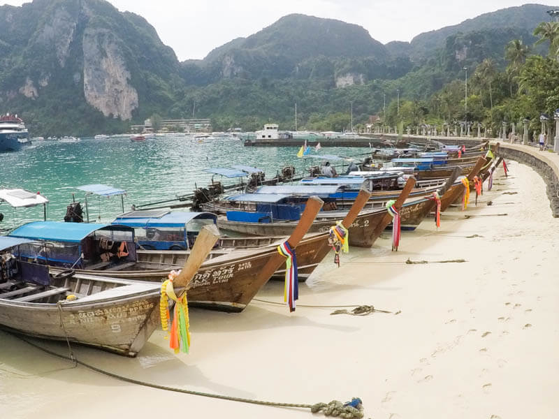 Tonsai Pier at Koh Phi Phi - 24 Hours Itinerary in Phi Phi Islands (2)