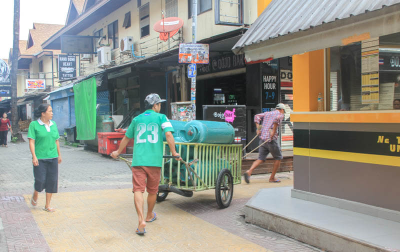 Transportation at Phi Phi Don - 24 Hours Itinerary in Phi Phi Islands