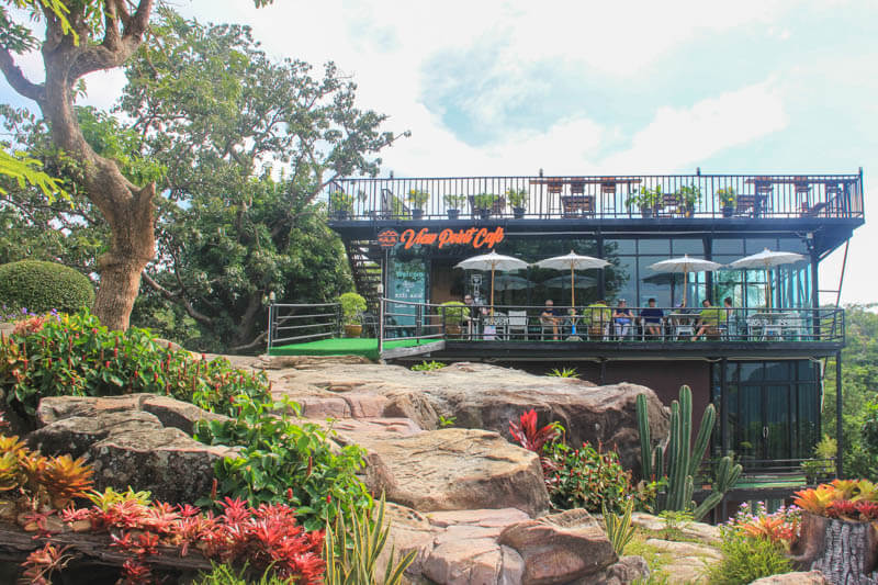 Viewpoint Cafe at Phi Phi Viewpoint 2 - 24 Hours Itinerary in Phi Phi Islands