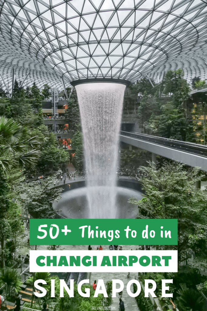 what to do in changi airport singapore
