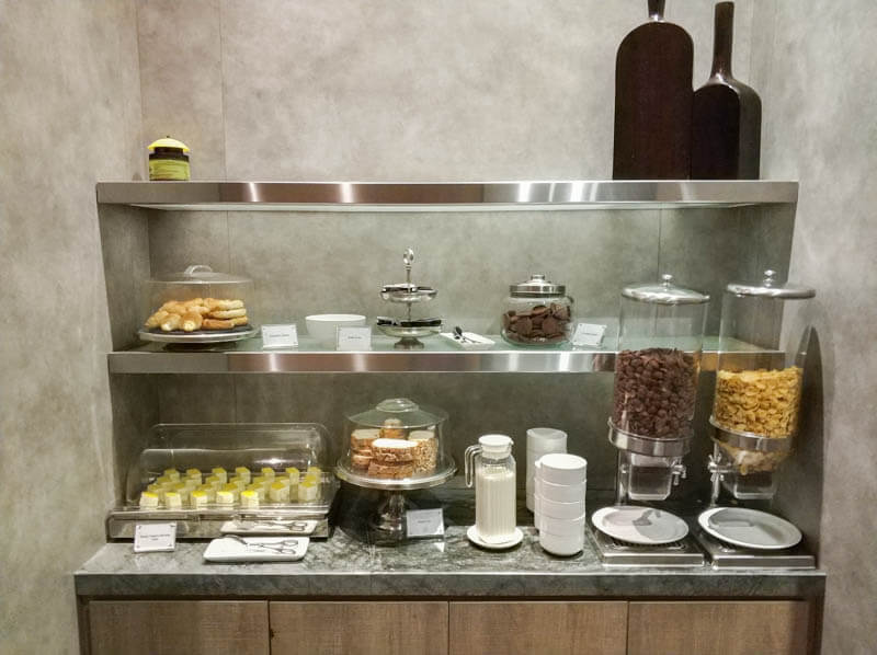 Food at Wellness Spa by Plaza Premium Lounge, KLIA2
