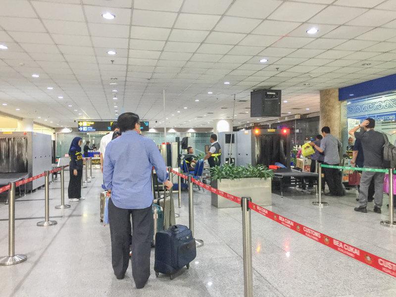 Kualanamu Medan Airport - Baggage Scan