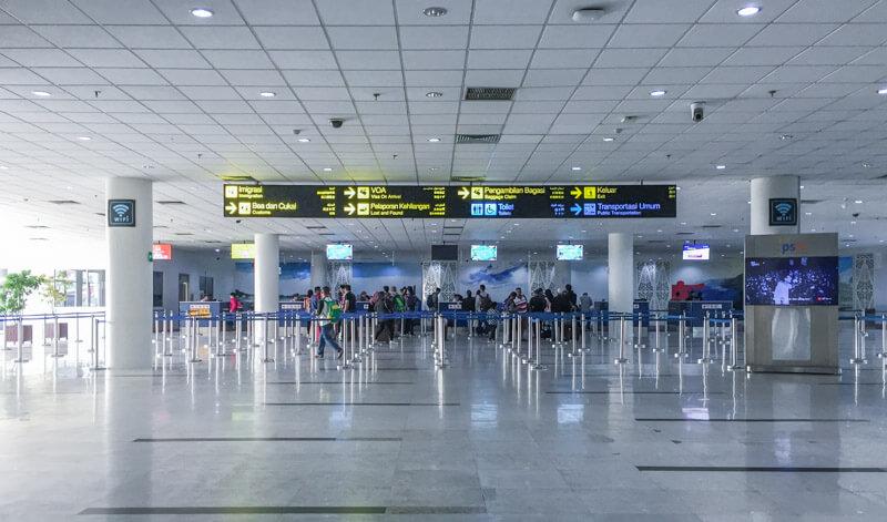 Kualanamu Medan Airport - Immigration