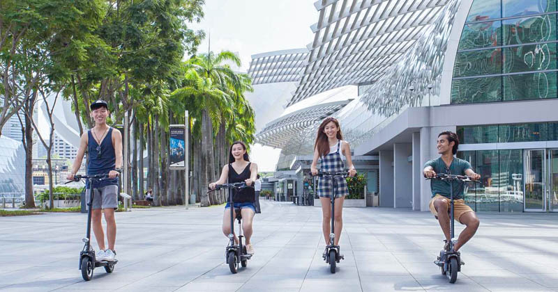 Getting Around Singapore with E-Scooter Rental