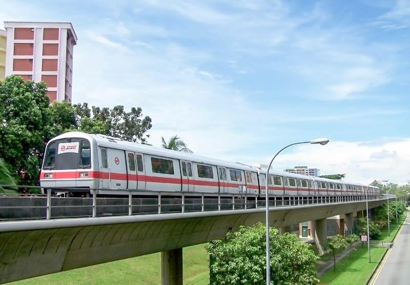 Getting Around Singapore with MRT
