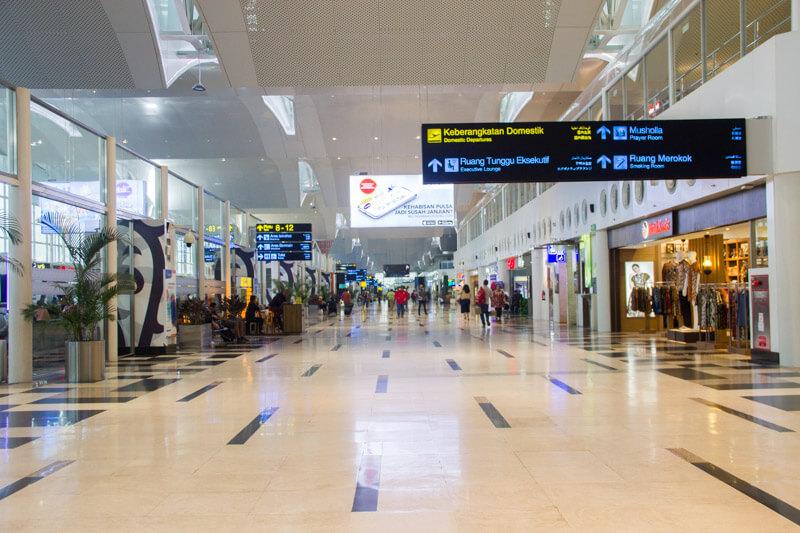 Kualanamu Medan Airport - Domestic Departure Hall