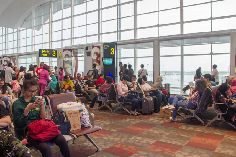 Kualanamu Medan Airport - International Departure Gate