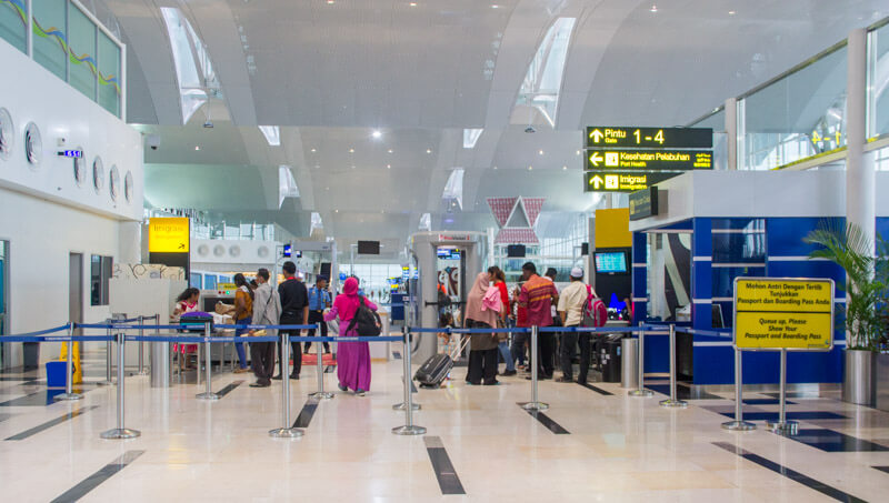 Kualanamu Medan Airport - Immigration