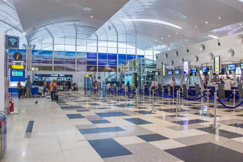 Kualanamu Medan Airport - Check in area