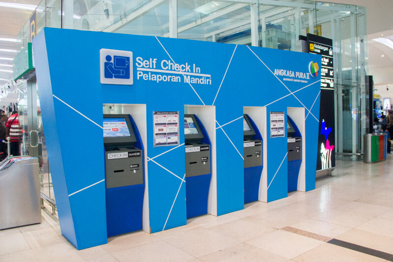 Kualanamu Medan Airport - Self check in