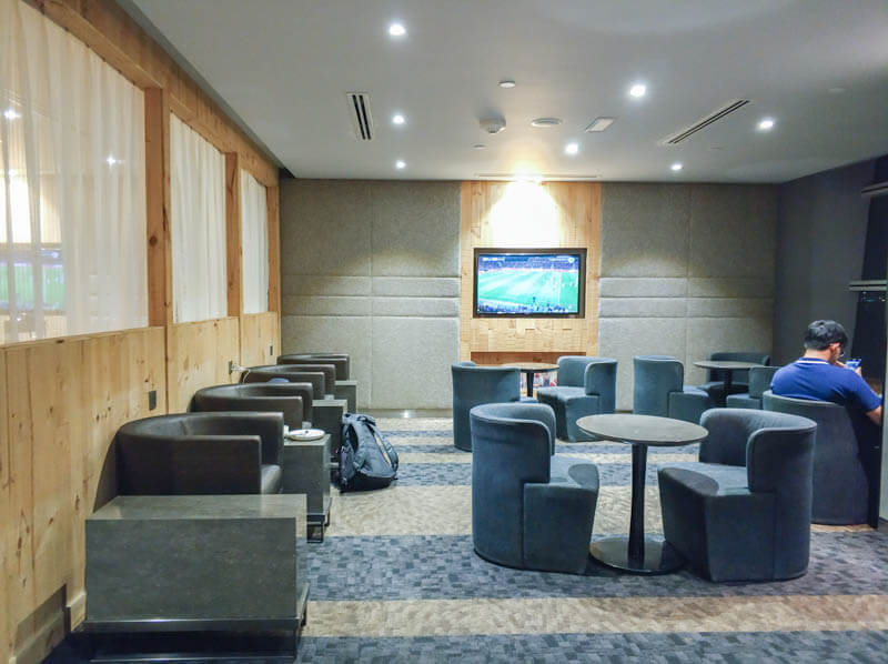 Seats inside Wellness Spa by Plaza Premium Lounge, KLIA2